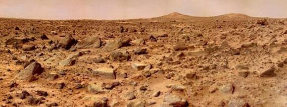 Mars-panorama