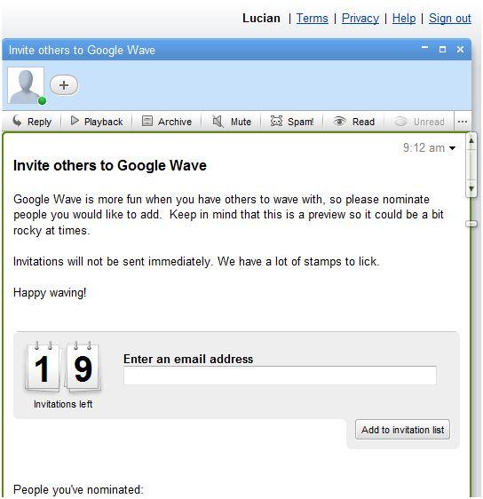 invitatii-google-wave