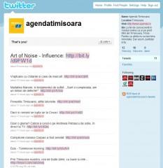 Agenda.ro ciripeste pe Twitter
