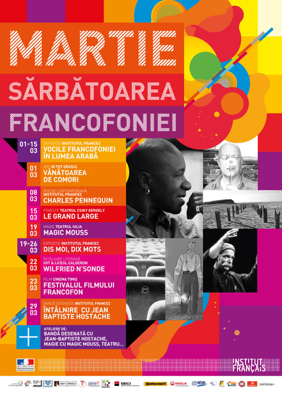 Martie este Luna Francofoniei la Timisoara