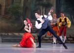 Prim-balerinii Operei Nationale a Ucrainei danseaza povestea Cavalerului ratacitor, la Timisoara