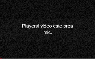 playerul video